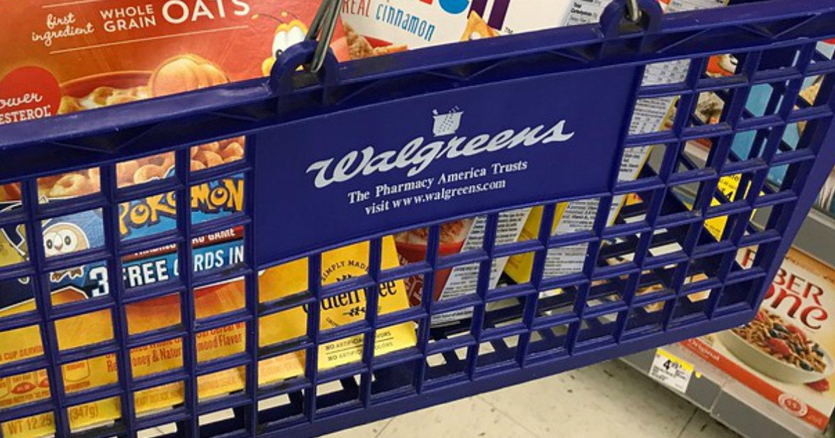 walgreens store guide - walgreens basket with items