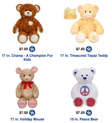 build a bear 7 cyber monday bears free shipping on 50 10 gift card for 5 hip2save. Black Bedroom Furniture Sets. Home Design Ideas
