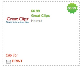 graphic about Sports Clips Coupon Printable titled Good Clips: $6.99 Haircut Coupon (Detroit Community) - Hip2Conserve