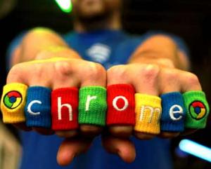 Google Chrome Finger Sweatbands