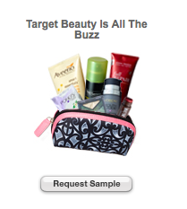 FREE BEAUTY BAG AT TARGET COM SAMPLES! ⋆ Brite and Bubbly