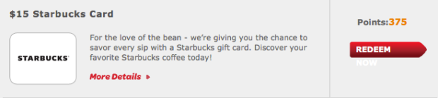 Huggies Enjoy the Ride Rewards: $15 Starbucks Gift Card Only 375 Points