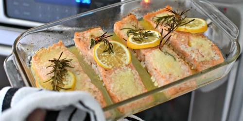 Easy Baked Salmon That is Edible and No-Fail!
