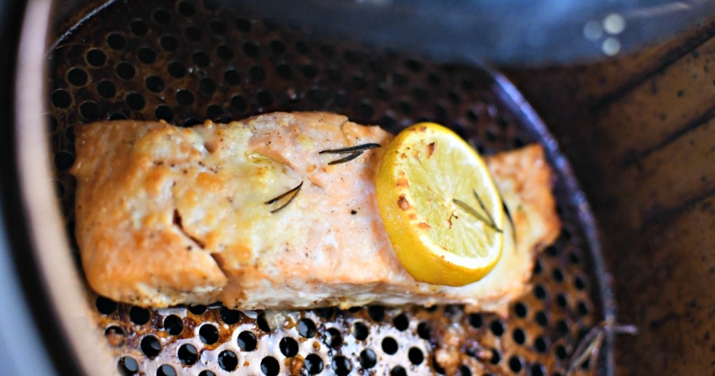 reheating salmon in the air fryer