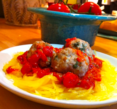 squash spaghetti recipe