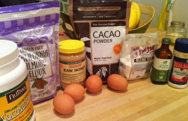 ingredients for grain free cake