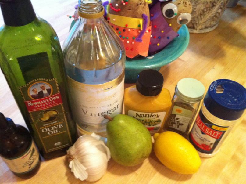 easy ripe pear recipe