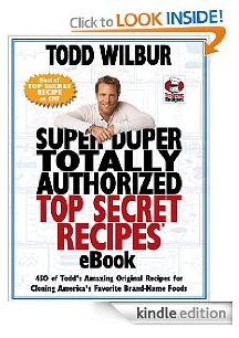Super Duper Totally Authorized Top Secret Recipes eBook (FREE Kindle