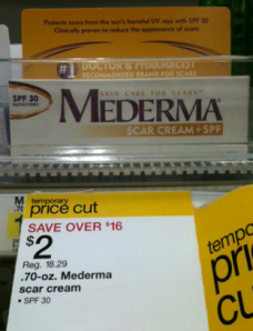 Target Hot Free Mederma Scar Cream Regularly 18 29 More