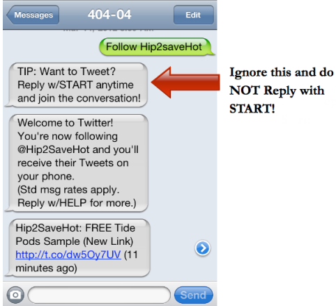 Sign Up to Receive *HOT* Deals Via Text Message - Hip2Save