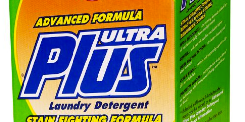 Sears: Ultra Plus Powder Laundry Detergent 275 Loads Only $13.49 (Reg. $26.99!) w/ Free Store Pick-Up