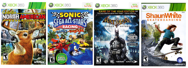 Walmart Com Hot Xbox 360 Bundle Deal 3 Games Only 10 66 Each