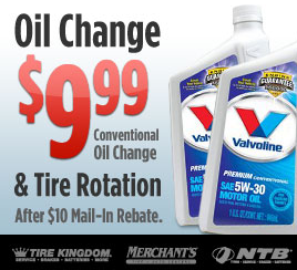 Ntb Oil Change Coupon >> Ntb Oil Change And Tire Rotation Only 9 99 After Mail In Rebate