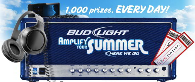 Bud Light Lime Instant Win Game Win Concert Cash Music