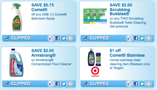 Cleaning Product Coupons Walmart Deal Hip2save