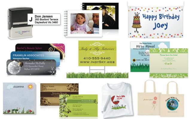 Vistaprint: *HOT* 10 Items (Banner, Photo Book, Shirt, Yard