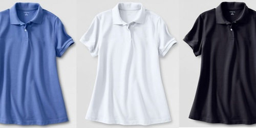 Lands' End: Women's Maternity Banded Polo Shirts Only $3.72 Shipped (Reg. $26!)