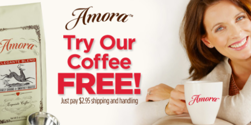 *HOT* FREE 8 Ounce Bag Of Amora Coffee (Just Pay $2.95 For 2-Day Shipping)