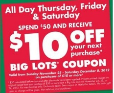 Big Lots 2012 Black Friday Deals Hip2save