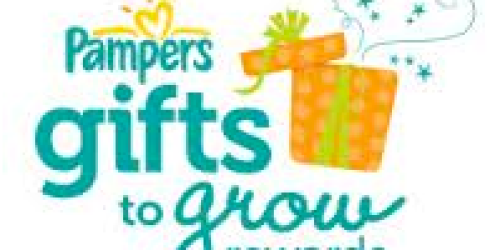 Pampers Gifts to Grow: New 10 Point Code