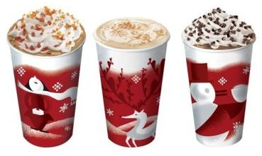 Starbucks: Buy 5 Holiday Drinks and Get 1 FREE (Valid 11/19-1/2)