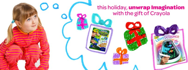 Crayola Unwrap Imagination Instant Win Game Win Digitools Light Up Tracing Pads More Hip2save