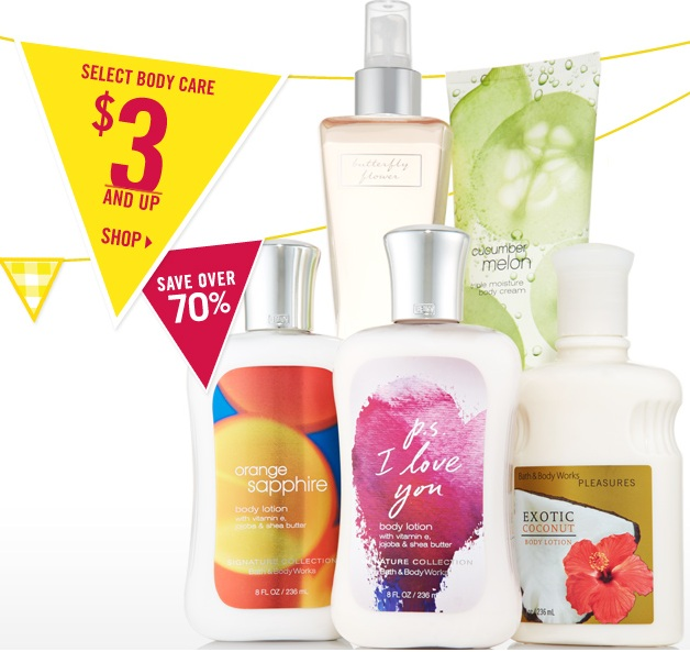 Bath And Body Works Clearance Sale 10 Off A 30
