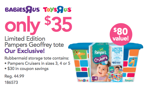 pampers coupons toys r us