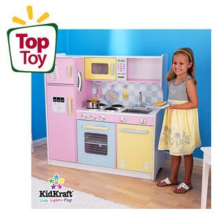 Walmart.com: KidKraft Large Pastel Play Kitchen Only $114.97 ...