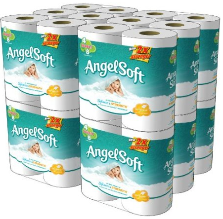 Amazon Great Deals On Angel Soft Double Rolls And