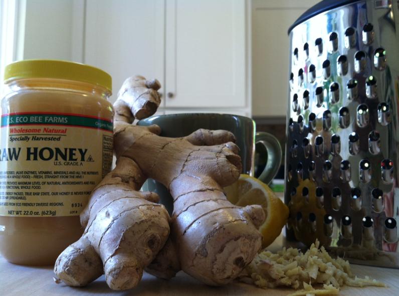 easy ginger tea recipe