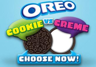 Oreo Cookie vs Cream Game: Enter to Win iPod Shuffle, iTunes