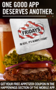 TGI Friday's: FREE Appetizer Coupon - No Purchase Required (Must