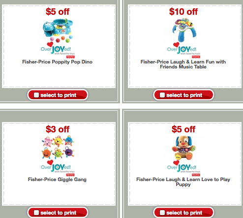 photograph relating to Fisher Price Printable Coupons referred to as Emphasis: Contemporary Fisher-Selling price Keep Discount coupons + Even more \u003d Giggle