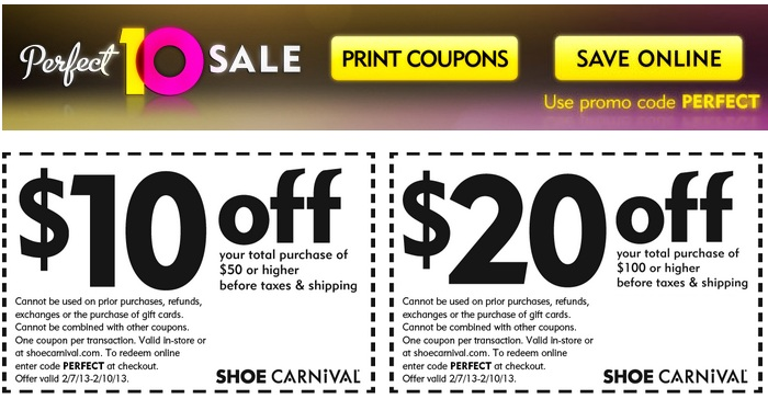$10 Off a $50 Purchase Coupon Valid
