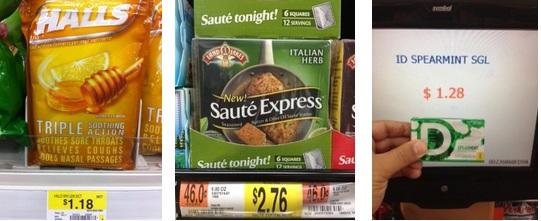 A Few Walmart Deals Halls Cough Drops Id Gum Zarbee S