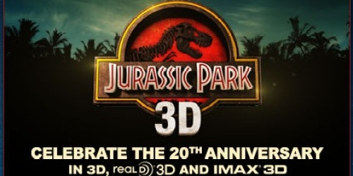 FREE Advanced Movie Screening of Jurassic Park 3D on 3/30 (Select Cities Only)