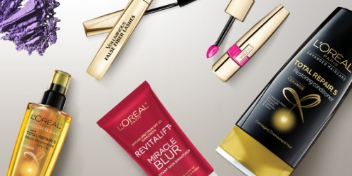 L'Oreal Paris USA Sweepstakes: Win $100 L'Oreal Prize Package (100 Winners Every Week)