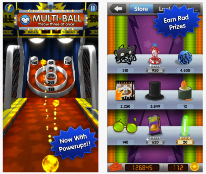 FREE Skee-Ball App Available Again (iTunes Download - Reg