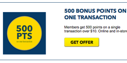 Best Buy Reward Zone Members: 500 Free Bonus Points w/ One Transaction Over $10 (Ends Today!)