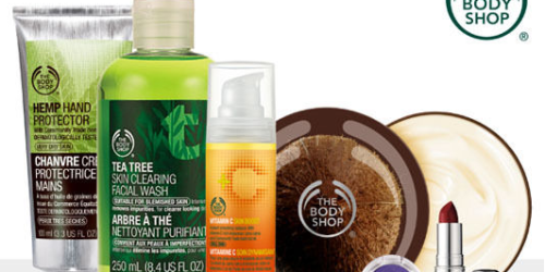 LivingSocial: $20 The Body Shop Voucher Only $10 – Valid In-Store Only (Last Day to Purchase)
