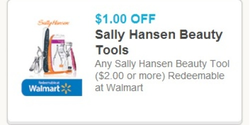 1 Off A 2 Or More Sally Hansen Beauty Tool Coupon Items As Low As 1 47 At Walmart Hip2save