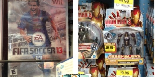 More Walmart Deals: FIFA Soccer 13 Wii Game, Nerf and Tranformers Toys + More