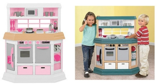 Walmart.com: American Plastics Play Kitchen + Chef\'s Hat and ...