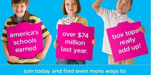 Box Tops for Education: Earn Money for Your Child's School, Get Exclusive Coupons + More