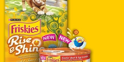 FREE Can of Friskies Rise & Shine Cat Food When You Enter Sweeps (1st 25,000!)