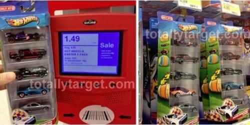 Target: Hot Wheels 5-Packs Only $1.49 – Regularly $4.99 (Just $0.30 Per Hot Wheel!)
