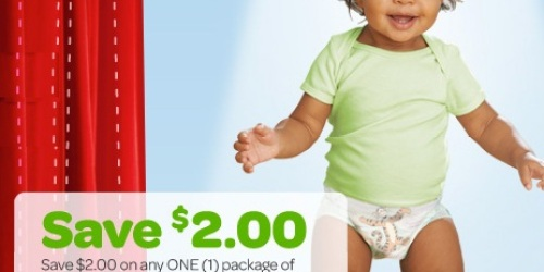 High Value $2.50/1 Huggies Little Movers Slip-On Diapers Coupon = *HOT* Deals at Walgreens & CVS