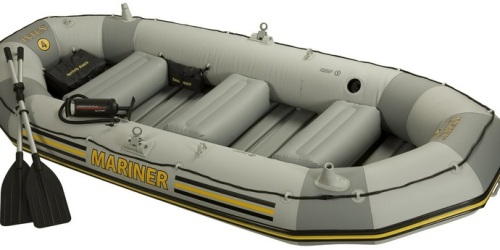 Amazon: Intex 4 Person Mariner Inflatable Boat Set Only $199.99 Shipped (Lowest Price!)