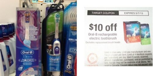 Target: Possible FREE Oral-B 3D White Rechargeable Toothbrush (Starting 4/7)